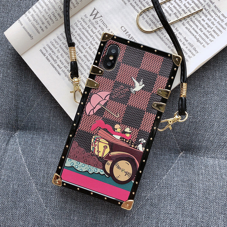 OWLCASE Fashion Squared Messenger iPhone Cases