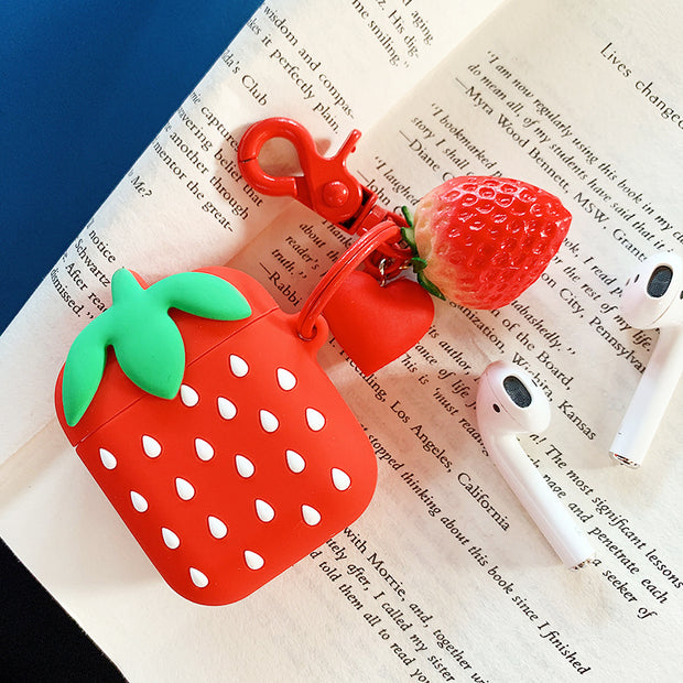 OWLCASE Strawberry AirPods Case