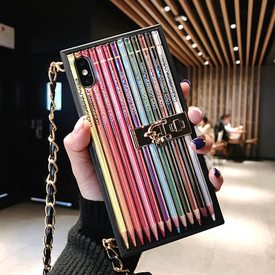 Fashion Rainbow Pen iPhone Cases
