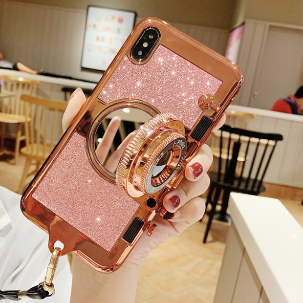 Owlcase 3D Camera Case Luxury Plating phone cases