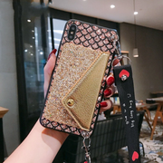 Owlcase Crossbody Core Glitter Wallet for iphone 11/pro/max cases