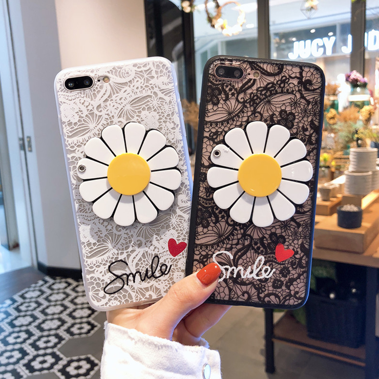 Owlcase Sun Flower Mirror Lace  Cover iphone cases