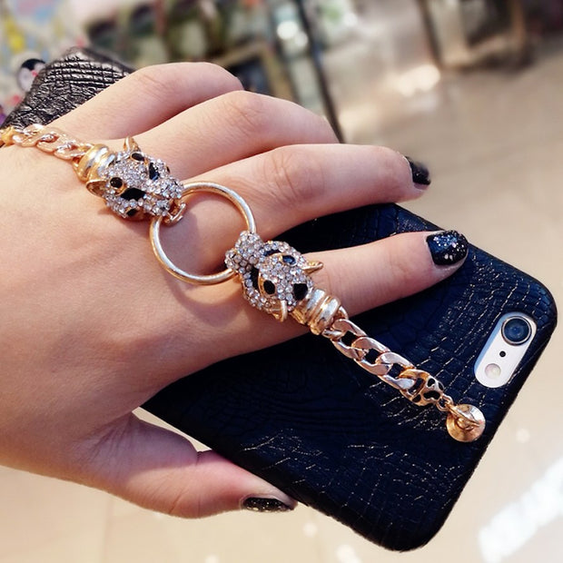 Luxury Fancy Rhinestone Chain iPhone Cases