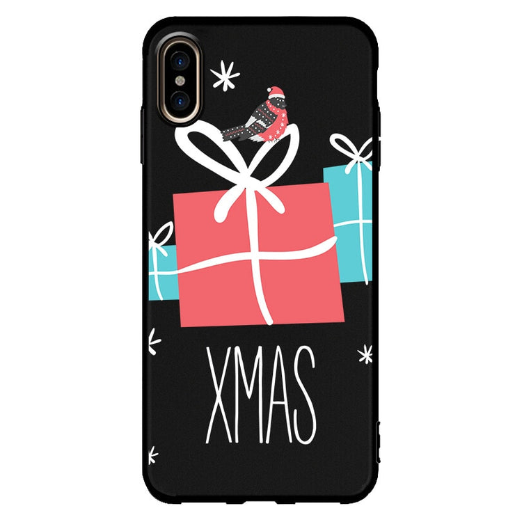 Lovely Christmas Pattern Cartoon Phone Case