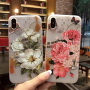 Beautiful Flowers Pattern iPhone Cases
