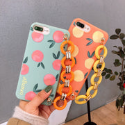 Bracelet Literary Orange iPhone Cases