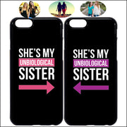 Buy 2 Get 10% OFF - She's My Unbiological Sister iPhone Cases