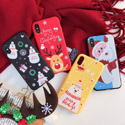 3D Cartoon TPU phone Case