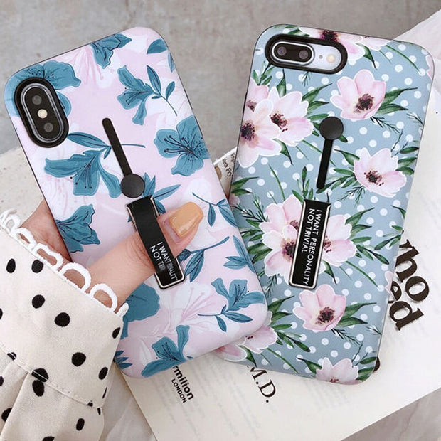 Fashion Plants Flower Leaves iPhone Cases