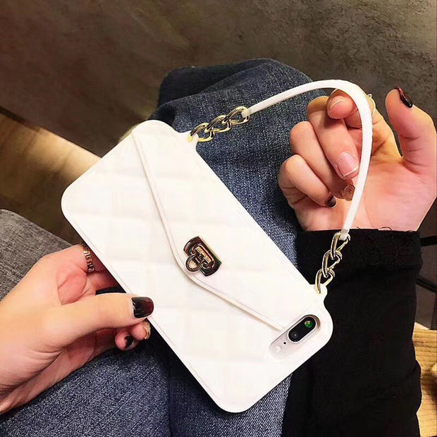 Luxury Wallet Purse Card Bag iPhone Case