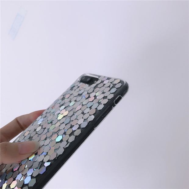 Colorful Shard Blink Sliver Soft TPU Phone Case
