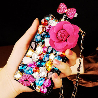 Fashion Dimond Perfume Bottle iPhone Cases