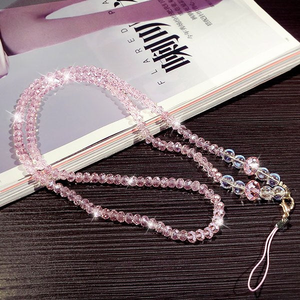 Fashion Crystal Phone Strap
