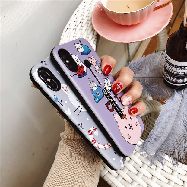 Fashion Ring Buckle iPhone Cases