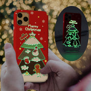 Christmas Luminous iPhone Case For iPhone 11