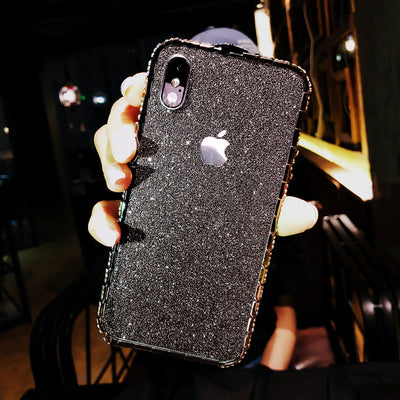 Luxury Shiny Crystal Diamond Anti Knock Case