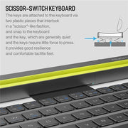 Multi-function folding Bluetooth keyboard-Support Android & IOS & WINDOWS System