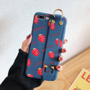 Retro Fruit Painted iPhone Cases