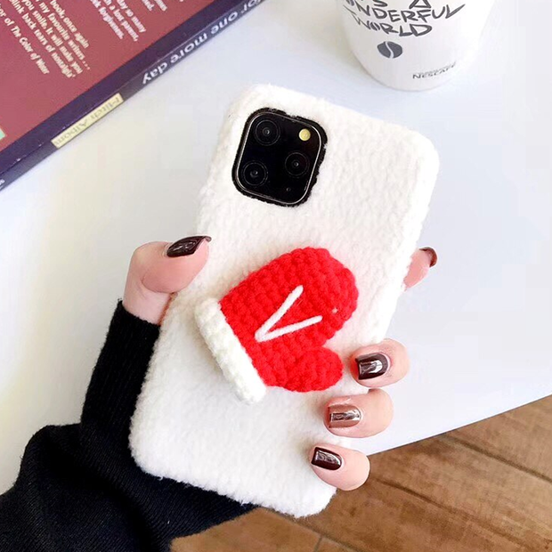 owlcase cute Christmas gloves for iphone 11/pro/max cases