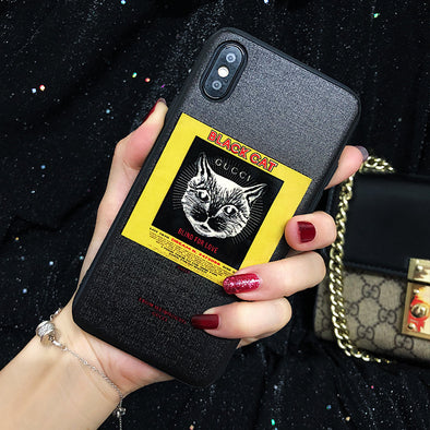 Luxury Cat Tiger iPhone Cases