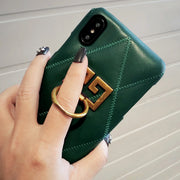 big ring lambskin cases