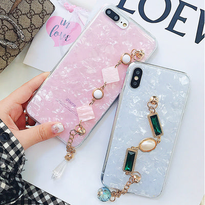 Bling Diamond Luxury Gem Bracelet Phone Case