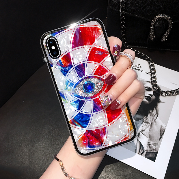 Owlcase Diamond Jewelled Mystery Eye Phone Iphone Case
