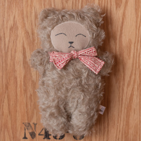 Sandy Mohair Bear