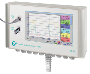 Intelligent chart recorder DS 500 for compressed air and gases - Air Check Vietnam