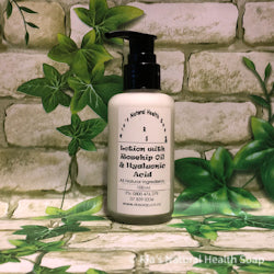Lotion with Rosehip Oil & Hyaluronic Acid