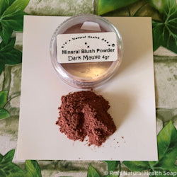 Mineral Blush Powder Dark Mauve