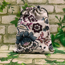 Load image into Gallery viewer, Linen Bag Flowers