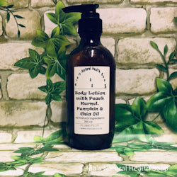 Body Lotion with Apricot, Chia Seed, Peach & Pumpkin Seed Oil