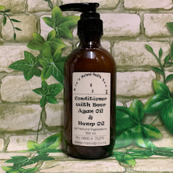 Conditioner with Beer, Argan & Hemp