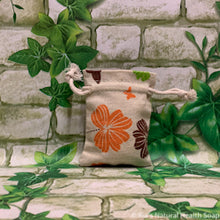 Load image into Gallery viewer, Mini Linen Bag Flowers