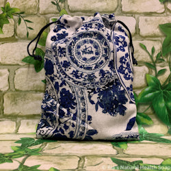 Linen Bag Blue Mandala