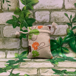 Mini Linen Bag Flowers