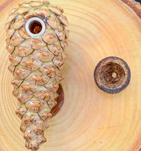 Load image into Gallery viewer, Pinecone Herb Holder