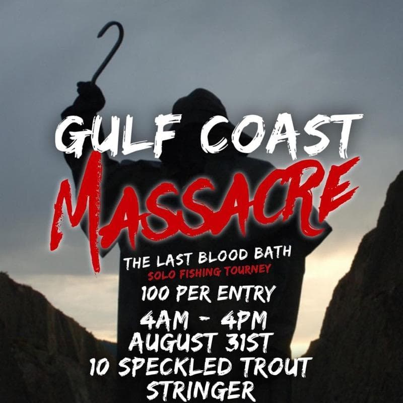 Gulf Coast Massacre Solo Fishing Tournament