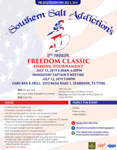 2nd Annual Freedom Classic Fishing Tournament