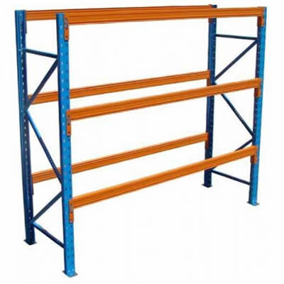 On Sale 10 bays of used  pallet racking