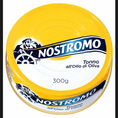 NOSTROMO TONNO ALL'OLIO DI OLIVA     300 GR (12 in a box)