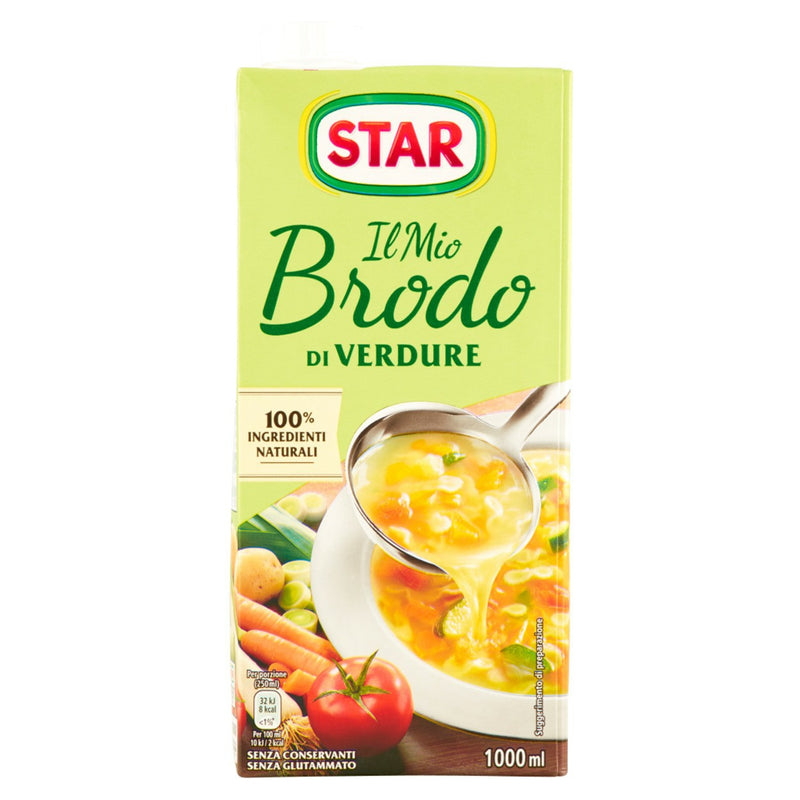 STAR BRODO LIQUIDO VEGETABLE 1lt (6 in a box)