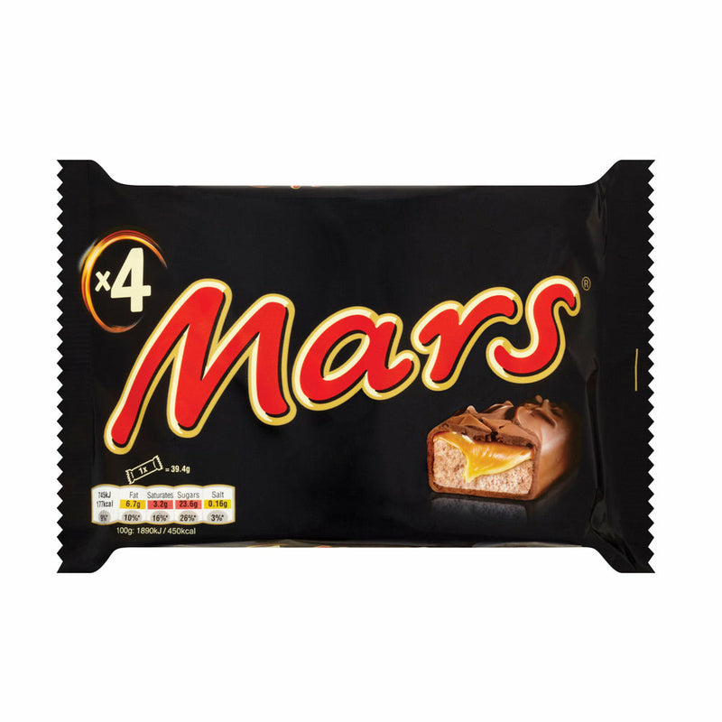 MARS    MULTIPACK X4 180 GR (34 in a box)