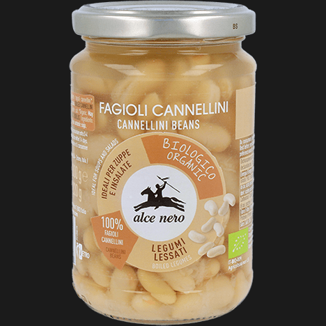 ALCENERO CANNELLINI  BEANS 300gr (12 in a box)