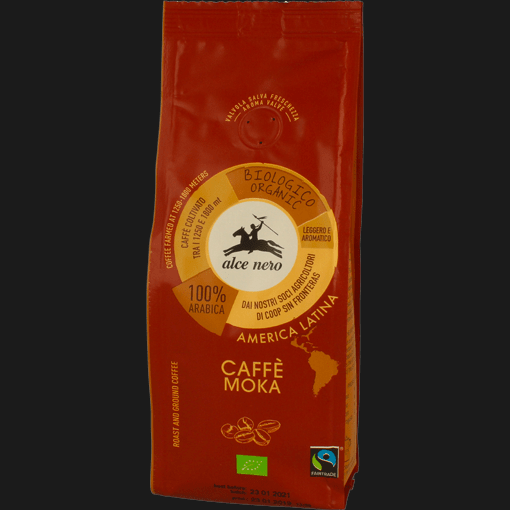 ALCENERO CAFFE' ARABICA BIO 250 GR (12 in a box)