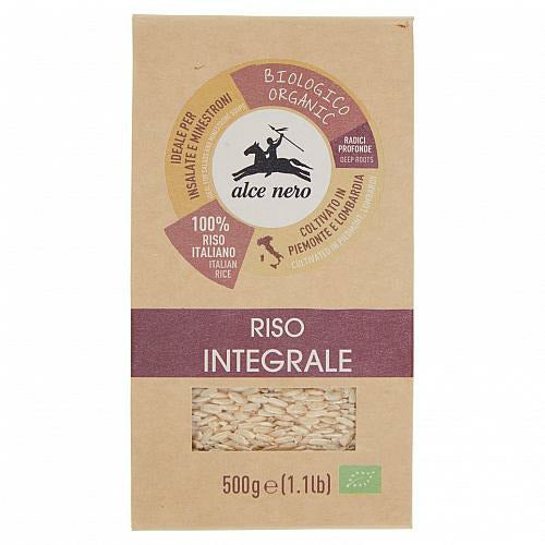ALCENERO ITALIAN ORGANIC BROWN RICE 500g (12 in a box)