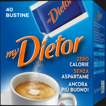DIETOR BUSTINE   X40 40 GR (24 in a box)