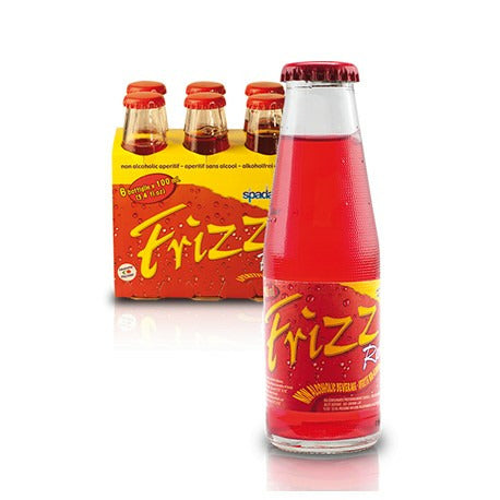 FRIZZ APERITIF RED GLASS BOTTLE X6 600 ML (4 in a box )