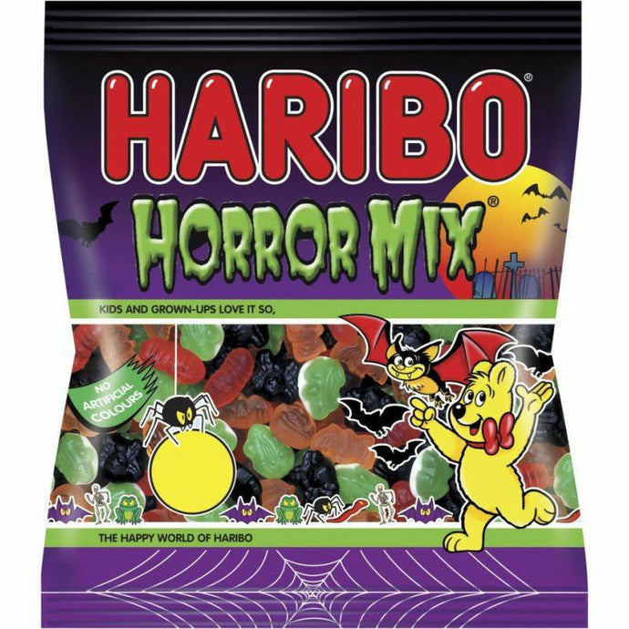 HARIBO HORROR MIX     200 GR (1 in a box)